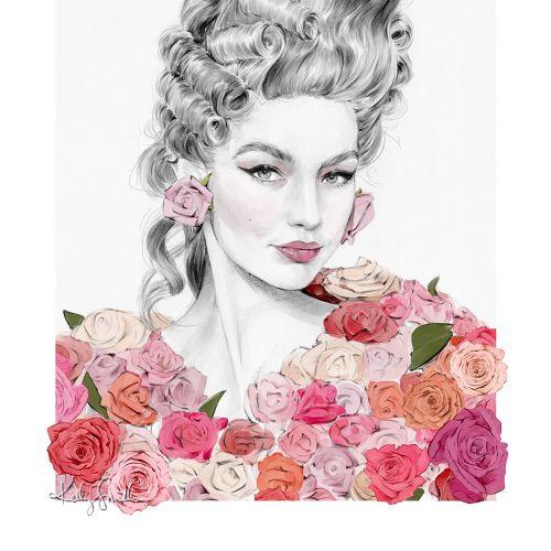 Kelly Smith Ilustrador internacional de moda e beleza. Austrália