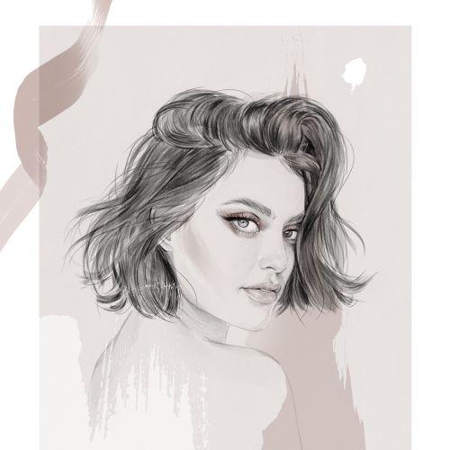 Karen Wazen-Bakhazi portrait for Harper's Bazaar Arabia