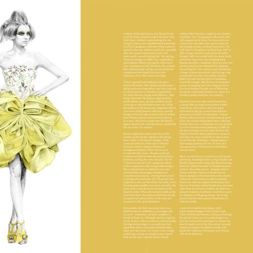 Hub - Dior Fashion illustration by Kelly Smith