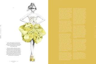 Hub - Dior Fashion illustration by Kelly Smith