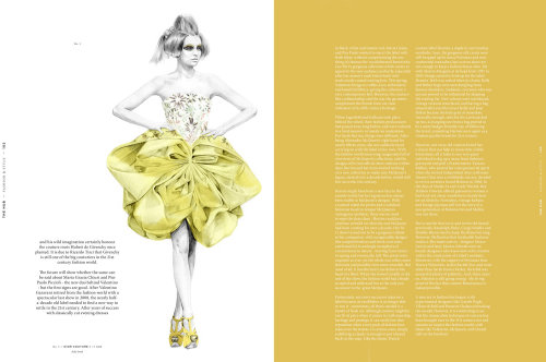 Hub - Ilustração da Dior Fashion de Kelly Smith