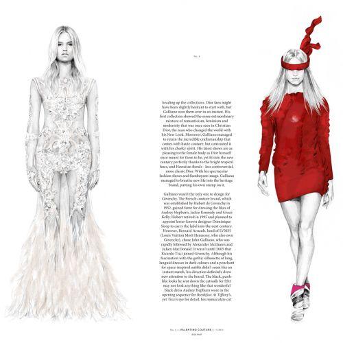 Hub - Givenchy & Valentino fashion illustration by KellySmith