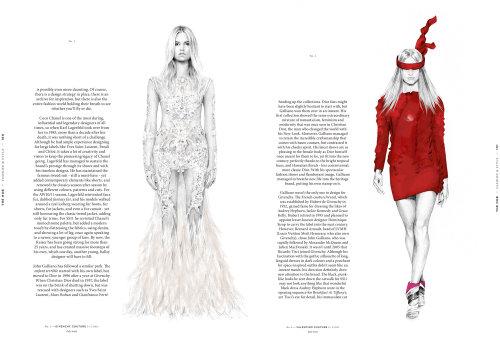 Hub - Ilustração de moda Givenchy e Valentino por KellySmith