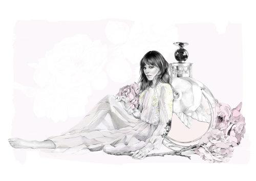 Ilustração de Valentina Acqua Floreale por Kelly Smith