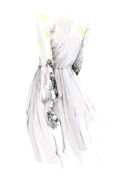 Valentina Acqua Floreale illustration by Kelly Smith