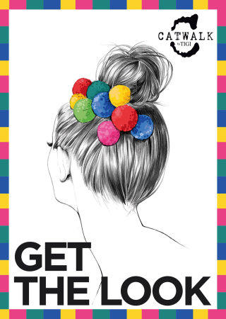 Hair style of lady illustration by Kelly Smith