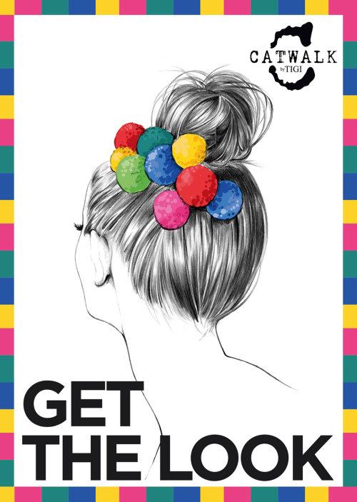 Ilustração de estilo de cabelo de senhora por Kelly Smith