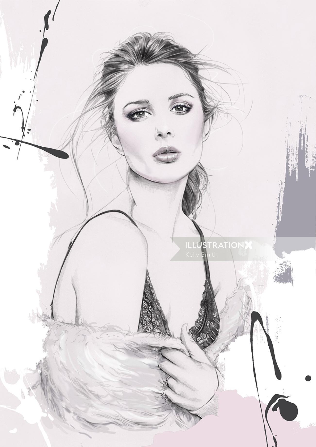 Illustration of Zanita Whittington