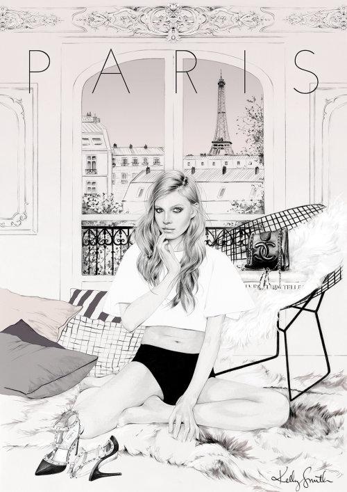 ilustração de uma mulher