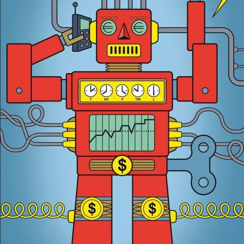 Robot - Conceptual illustration