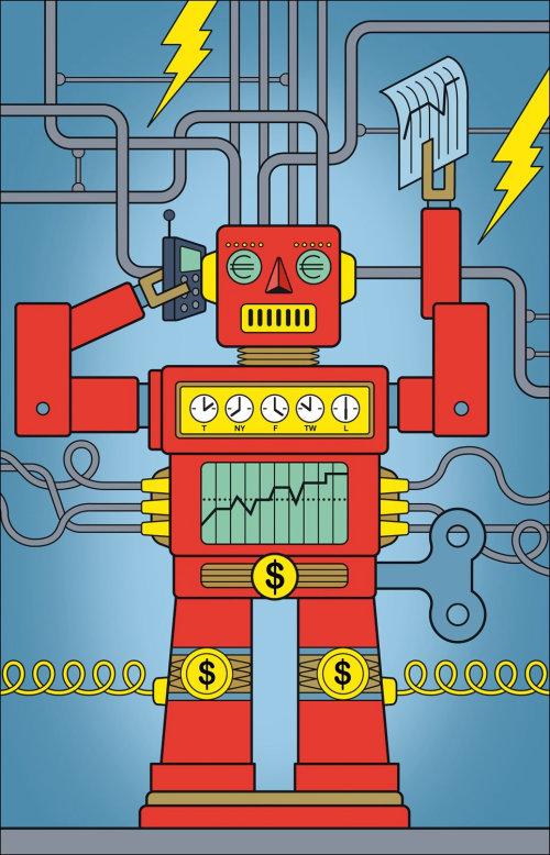 Robot - Ilustración conceptual