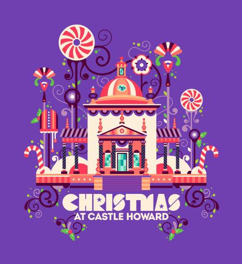 霍华德城堡圣诞节的动画