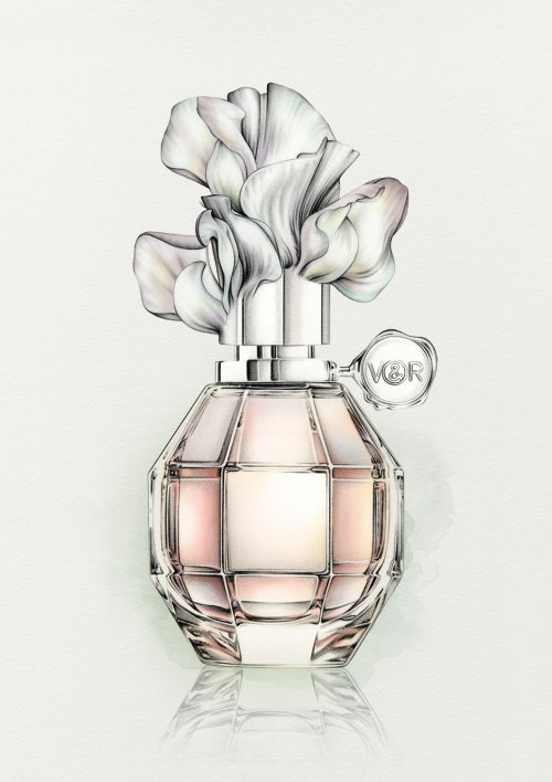 Viktor and rolf perfume bottle