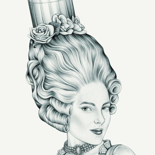 Lauren Mortimer International Pencil Illustrator specializing in Realism & Vintage Illustrations. London