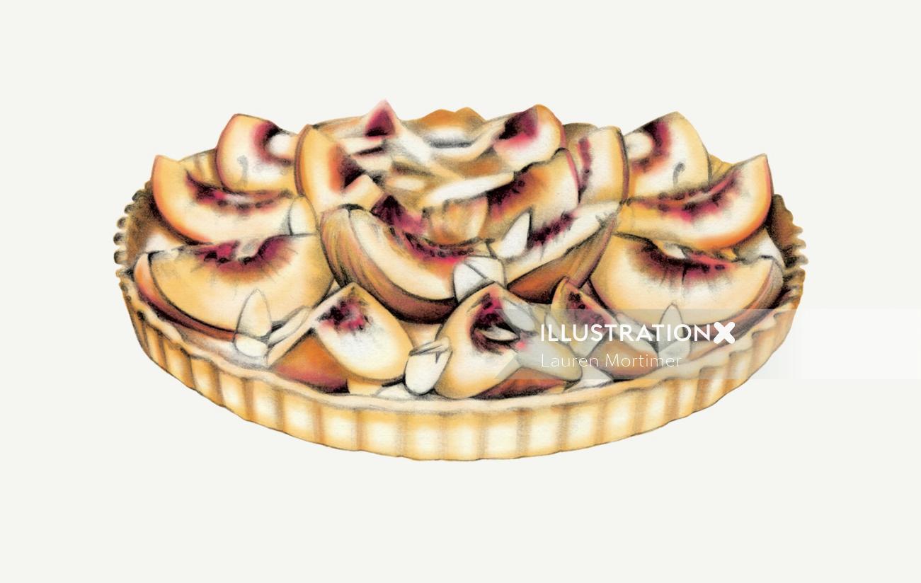 food illustration by Lauren Mortimer