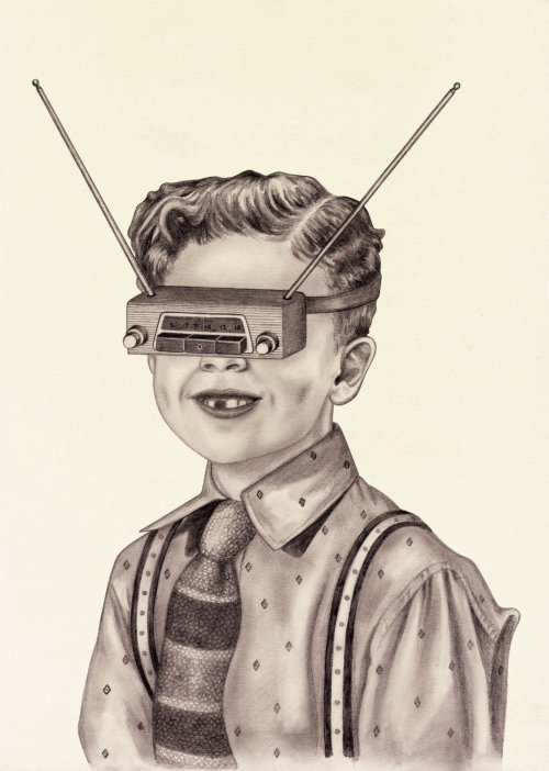 Boy with Radio VR