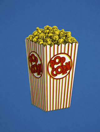 Popcorn illustration