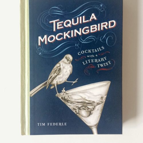 Book Cover Illustration For Tequila Mockingbird