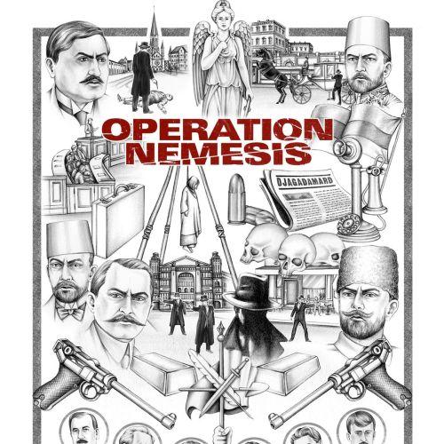 Operation Nemesis cover art by Lauren Mortimer