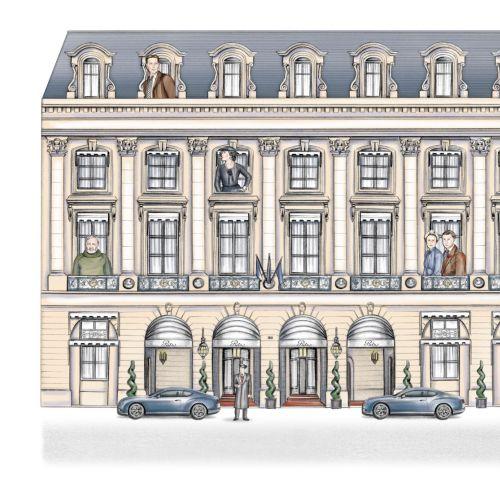 The Ritz Building in Paris