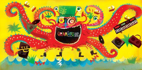 Design gráfico para Festival Artwork