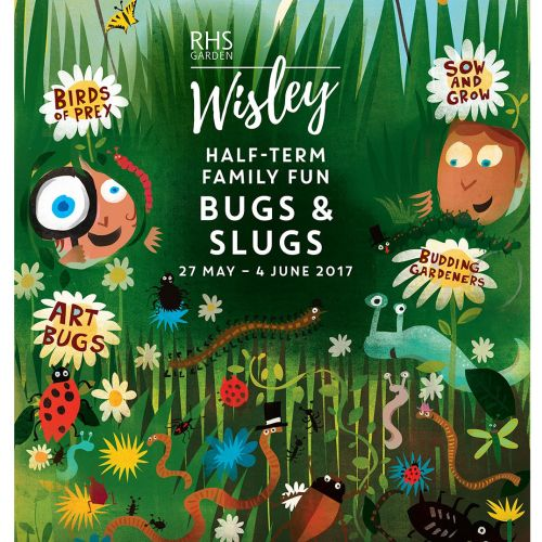 Poster design of Wisely bugs and slugs