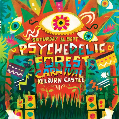 Character design for Kelburn Forest festival