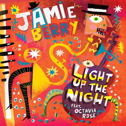 Couverture graphique de Jamie Berry EP