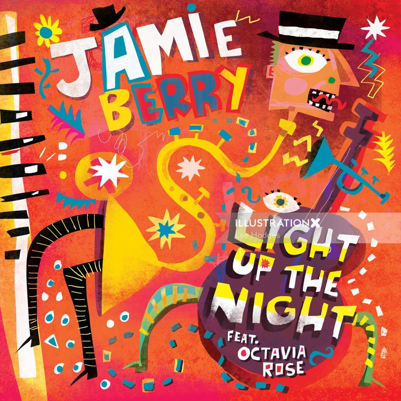 Graphic Jamie Berry EP cover