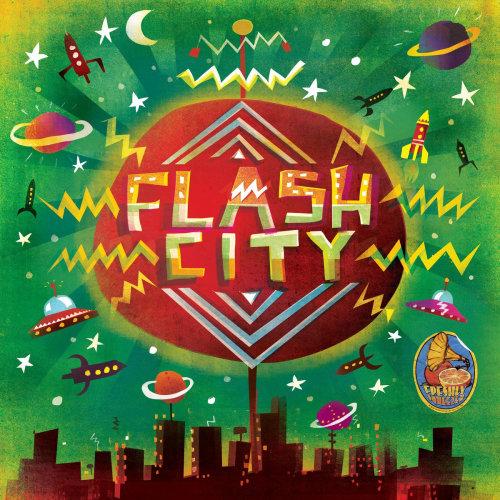 Shaka flash city animation