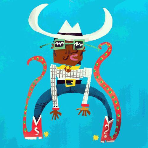 Lee Hodges - Rhythmic, vibrant illustrator. UK