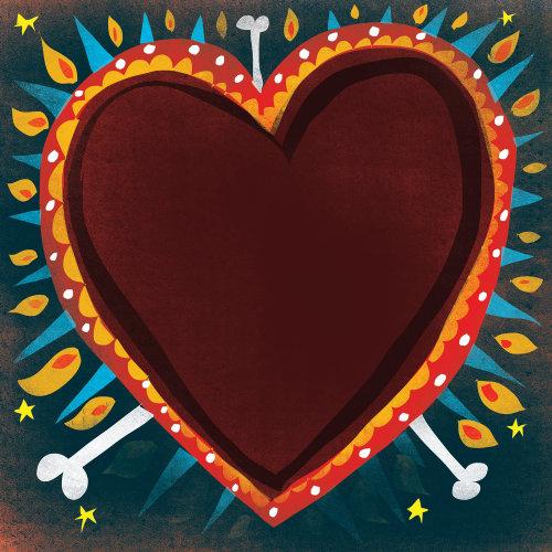Coeurs enflammés