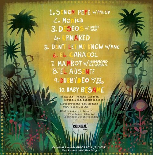 Tampa traseira do CD