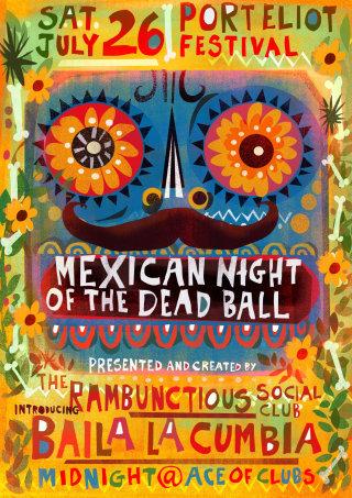 Illustration for Dia de los Muertos