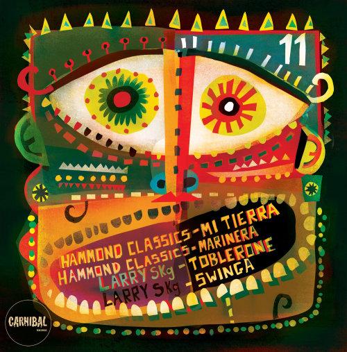 Una ilustración para la portada del álbum.