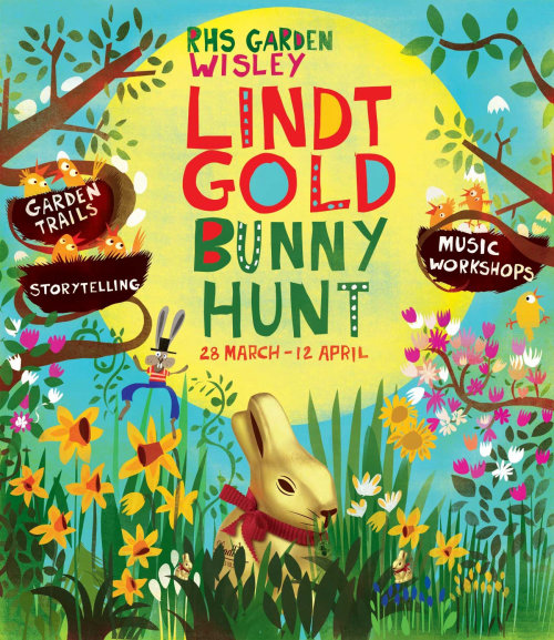 Lettrage Lint Gold Bunny