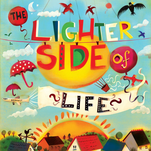 Lettering art of The Lighter Side of Life