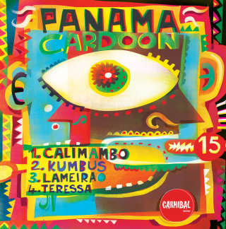 An illustration for album cover panama Cardoon