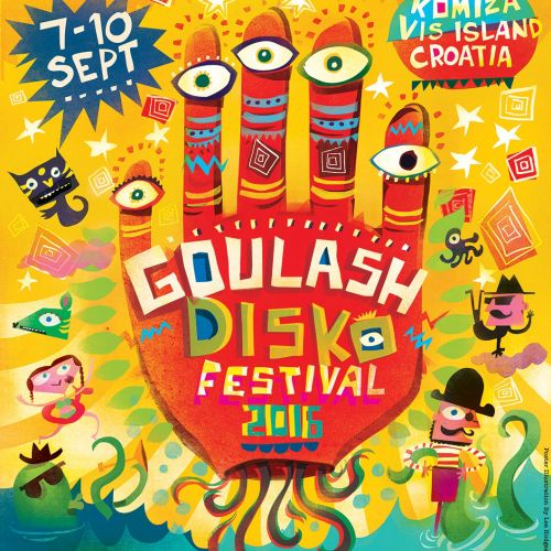 An illustration of Goulash disko festival
