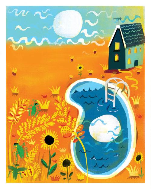 Paper art of September Poem image