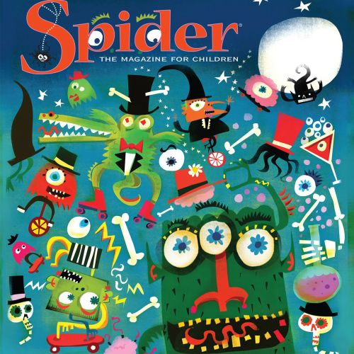 Poster design for Spider magazine for Children