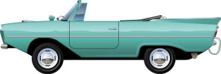 Illustration of Amphicar