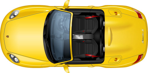 Illustration of Porsche Boxster