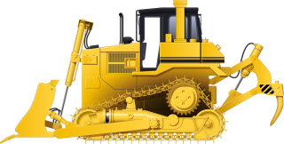 Illustration of Bulldozer