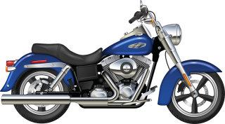 Illustration of Harley Davidson Dynaglide