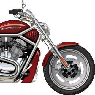 Illustration of Harley Davidson V-Rod