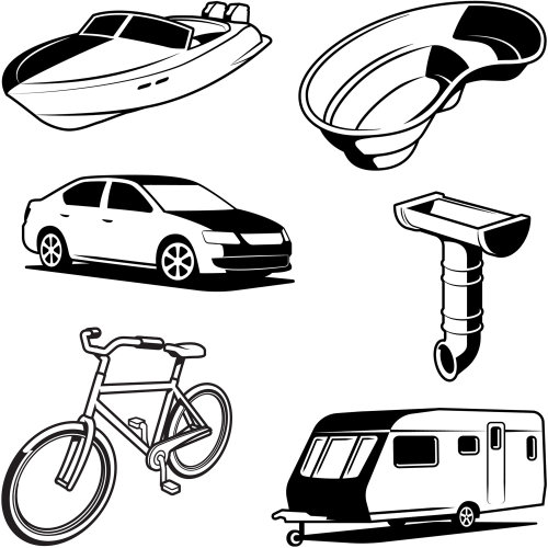 Illustration of DIY Icons
