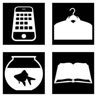 Illustration of Silhouette Icons