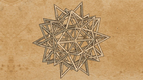 Stellated Icosidodecahedron animation