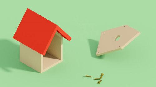 Birdbox Assembly 3d animation